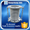 plumbing concrete corrugated stainless steel bellows expansion joint