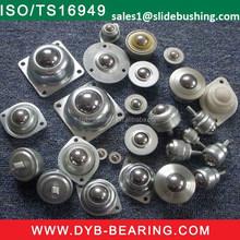 "sample Ball Transfer Bearing- 3-LQY-0820 1'' one inch 1/4"" Ball Up Design Mini POM/PEEK/SUS440 Ball Transfer Units"