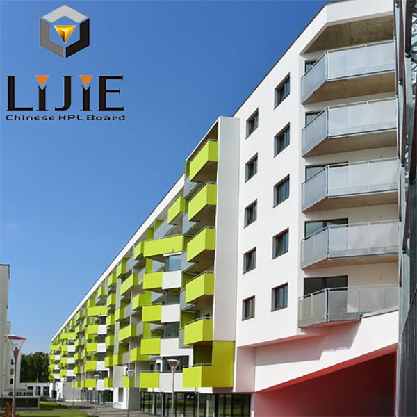 Exterior Wall Cladding Services : Good quality exterior hpl wall panel cladding lijie
