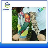 China Supplier Fashion Breathable and high-elastic fake long tattoo arm sleeve