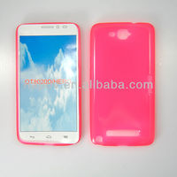 Cell Phone Shiny Plain TPU Jelly Case for Alcatel One Touch Hero (TCL Y910) 8020A