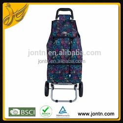 portable trolley rolling shopping bags with wheels