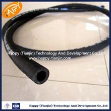 single fiber braid, rubber covered hydraulic rubber Hose SAE100 R6