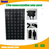 2015 high efficiency monocrystalline solar panel wholesale with cheap price