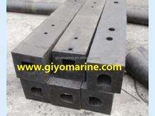 high elasticity and mechanical absorbent square type rubber fender for sale