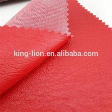 pvc de cuero sintético material de vinilo para asientodecoche