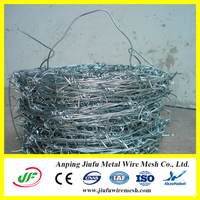 hot sale! manufacture galvanized barbed wire fence spools