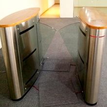 high quality security retractable flap barrier speed gate