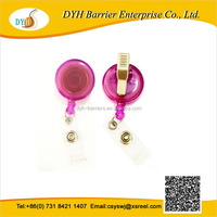 2015 SS Top grade fancy retractable badge yoyo