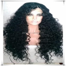 Top quality factory bottom price afro kinky curly long full lace wigs for black women qingdao wigs