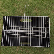 Top quality portable bbq grill with compact design note book charcoal BBQ grill