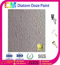 Water based anti-fungus diatom ooze wall paint