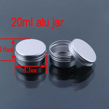 20g Lotion/Personnal Care Wide Mouth Aluminium Bottle/Jar/Cans