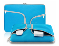 """Handy Zipper with Pockets / Compartments for All Laptop 11"""" or above Laptop Notebook Sleeve"""