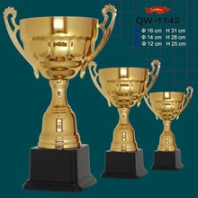 different shapes custom metal trophy figurines wholesale for sports awards