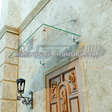 High quality tempered glass canopy