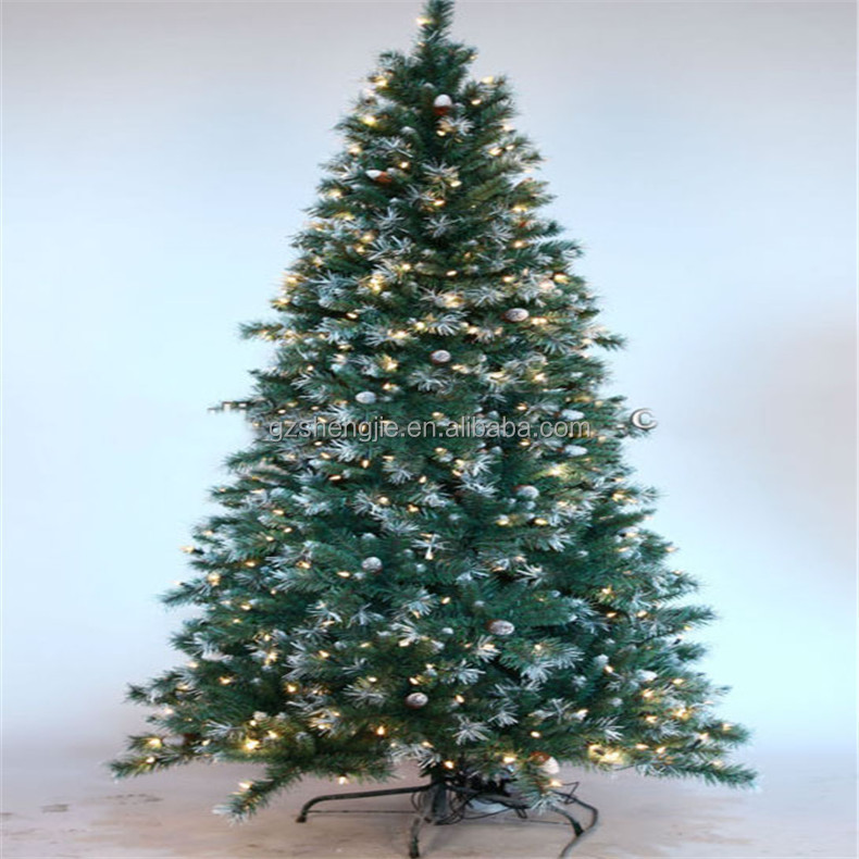 Sjzjn 1533 Plastic Fake Christmas Tree Hot Sale Pine