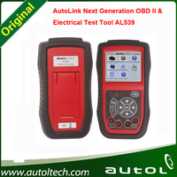 Free DHL!! Autel AL539 OBD2 OBDII Scan Tool with AVO Meter AutoLink AL539 Automotive Diagnostic and Analysis System