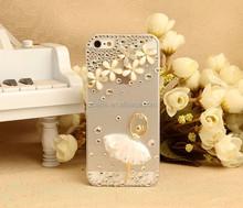 Bling diamond glitter hard case for iphone 6 plus new design shiny diamond case for iphone 6 6plus 5 5s 5c
