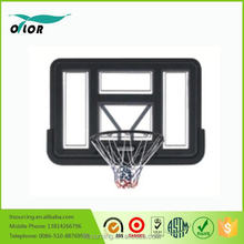 Deluxe black wall mounting glass basketball board