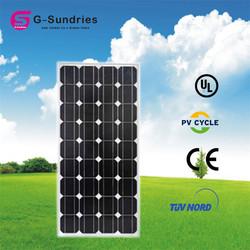 Hot sale mono-crystalline solar panel 120w