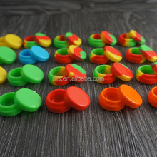 Waterproof silicone container with lid best container storage for weed or wax