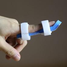 Health care product sport soft foam padded finger splint velcro waterproof finger splint