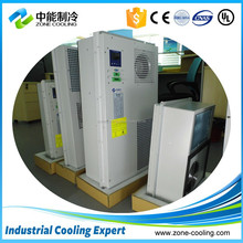 Air conditioning for electrical,telecom cabinet cooling solutions