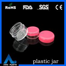 10/20g clear round cream plastic AS jar,transparent plastic jar