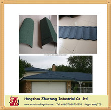 Hangzhou Roof Tile Factory Stone Coated Metal Roofing Tile For sale