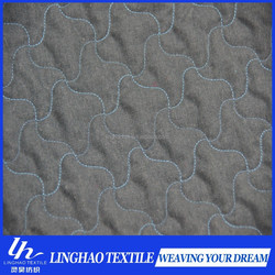 brushed laser quilted fabric for winter