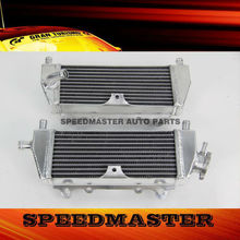 Motorcycle performance radiator for Kawasaki KX125 KX250 94-02