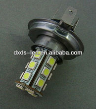 Hot sale fog lights led tuning light h4 high low 18SMD 5050 Led light bulbs