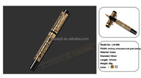 fashionable and high quality expensive metal glitter ballpoint pen