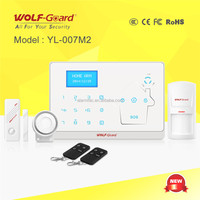 intelligent alarm wireless alarm system with APP and CID monitoring center