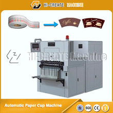 paper cup Roll paper die punching machine