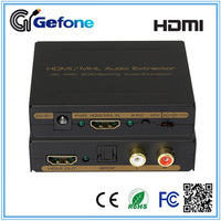 4K HDMI/MHL to HDMI+SPDIF+L/R Audio Extractor Converter with ARC and EDID