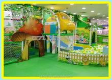 Equipo del patio para los niños parque indoor design diferentes juguetes y tamaño