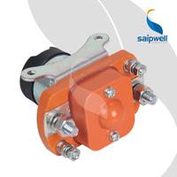 Saip Saipwell Made in China Electric Contactor DC 24V SZJ50A 50A 200A 400A 600A Big Current 50A Current DC Contator