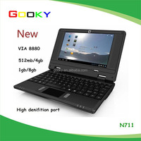 made in china cheap 7 inch notebook computers bulk wholesale