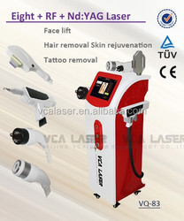 2015 CE approval high quality tattoo removal elight rf nd yag laser