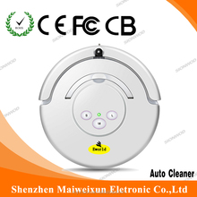 Ultrasonic cleaner built-in dry vacuum cleaner with road sweeper brushes for friends and family