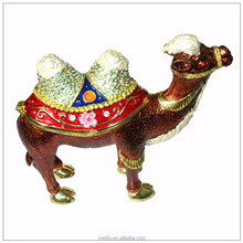 2015 Trending New Products High Quality Craft Jewelry Box Camel Trinket Box For Home Decorations QF2407-001