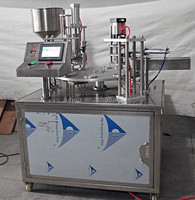 KIS-900 Rotary cup Filling sealing machine