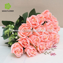 Provide artificial flower rose available colors flowers decoration for home