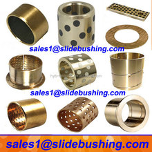 sintered oil copper bearing/split flange oilless brass wrap bush/ sleeve slide bimetal bronze steel bushing china manufacturer