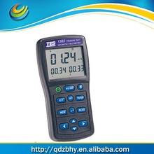 Três eixos EMF Tester confiável e maneira fácil de medida níveis em torno de linhas de energia TES-1393 campo electromagnético da radiação