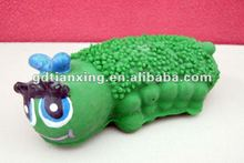 latex worm toy for birds, bird toys, latex worm toy with squeaker