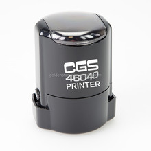CGS 46040 Self inking stamp/self ink rubber stamps/Plastic Self inking Stamp font stamp