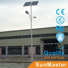 solar street lighting for Mexico with yingli solar